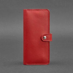 Портмоне кожаный 7.0 Красный