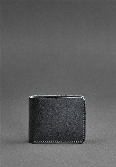 Портмоне кожаное 4.1 Черный