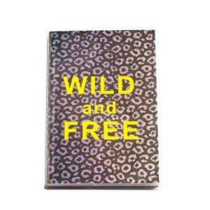 Блокнот А5 леопардовый Wild and Free