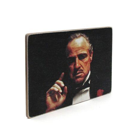 """Постер """"The Godfather. Крестный отец. Дон Вито Корлеоне. Портрет"""""""