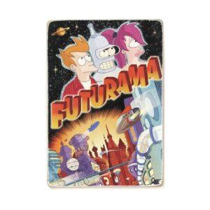 """Постер """"Futurama. Футурама. Бендер, Лила, Фрай"""""""