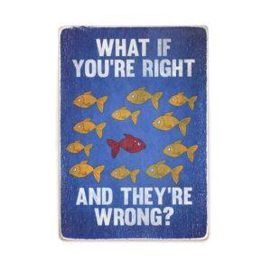 """Постер """"Fargo. Фарго. А что если ты прав, а они ошибаются?"""""""