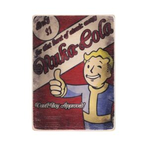 """Постер """"Fallout. Фоллаут. Нюка-Кола. Волт-Бой одобряет"""""""