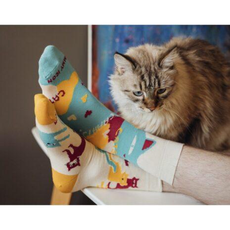 "Шкарпетки ""Cats"" (40-46)"