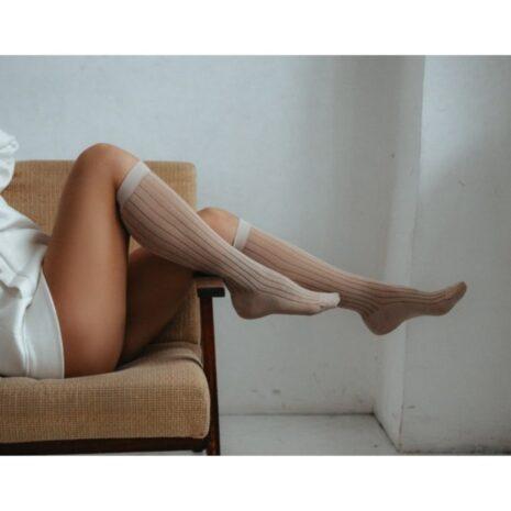 "Шкарпетки гольфи ""Grey Knee"" (36-40)"