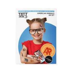"""Тимчасові тату з доповненою реальністю TATTon.me """"American animals AR set"""""""