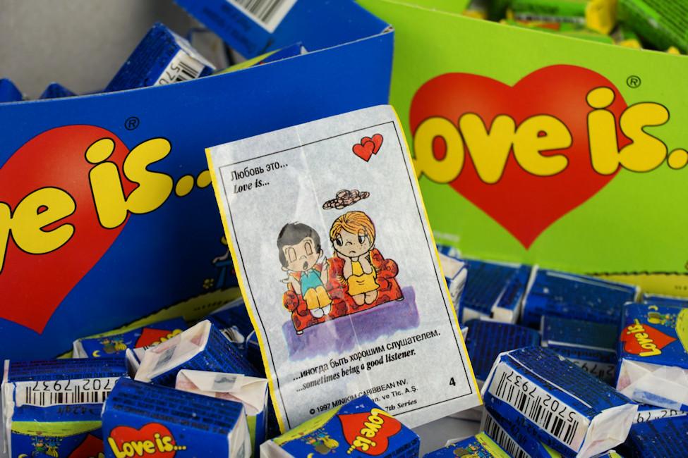 Жвачки Love IS топ 5