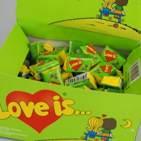 Жевательная резинка Love Is Яблоко-Лимон