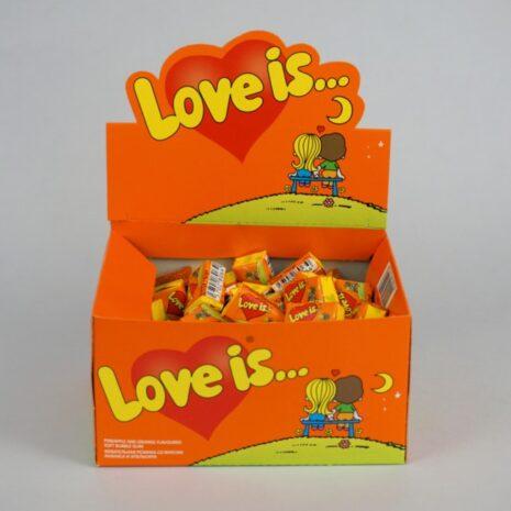 Жевательная резинка Love Is Ананас-Апельсин