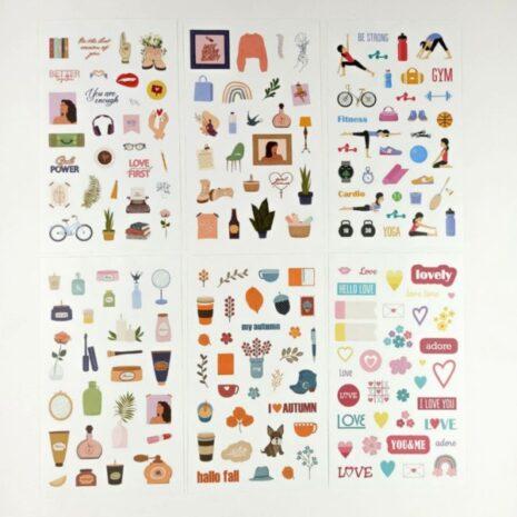 """Книга з наклейками стикербук """"Sticker Book MriyTaDiy 4"""""""