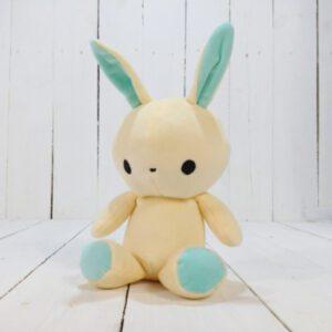 М'яка іграшка Strekoza заєць Фліп-Флоп 21см білий