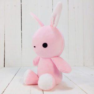 М'яка іграшка Strekoza заєць Фліп-Флоп 21см рожевий