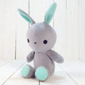 М'яка іграшка Strekoza заєць Фліп-Флоп 21см сірий