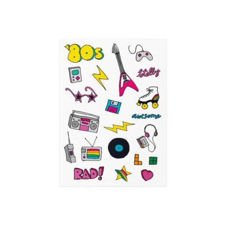 """Тимчасові тату TATTon.me """"80s Disco mix"""""""