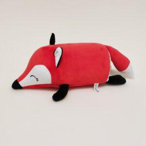 М'яка іграшка подушка малюк Фоксі 31см червоний