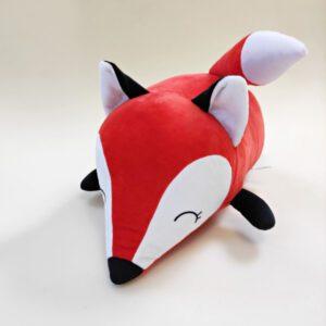 М'яка іграшка подушка малюк Фоксі 45 см червоний
