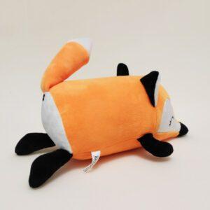 М'яка іграшка подушка малюк Фоксі 31 см помаранчевий