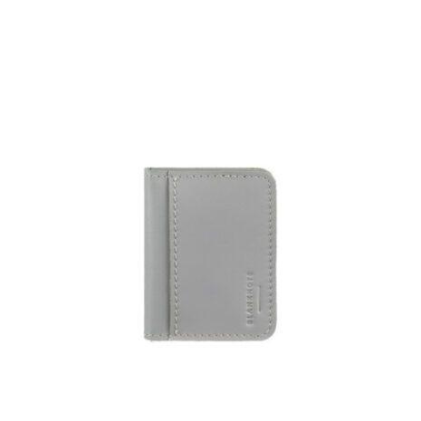 Женская кожаная обложка для ID-паспорта и водительских прав 4.0 Серая