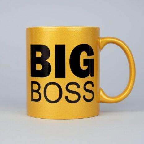 Чашка Золото Big Boss 330 мл