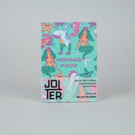 Скетчбук Jotter Mermaid Mood A6 100 стр.
