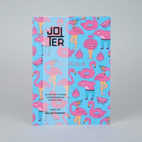 Скетчбук Jotter Flamingo New A6 100 стр.