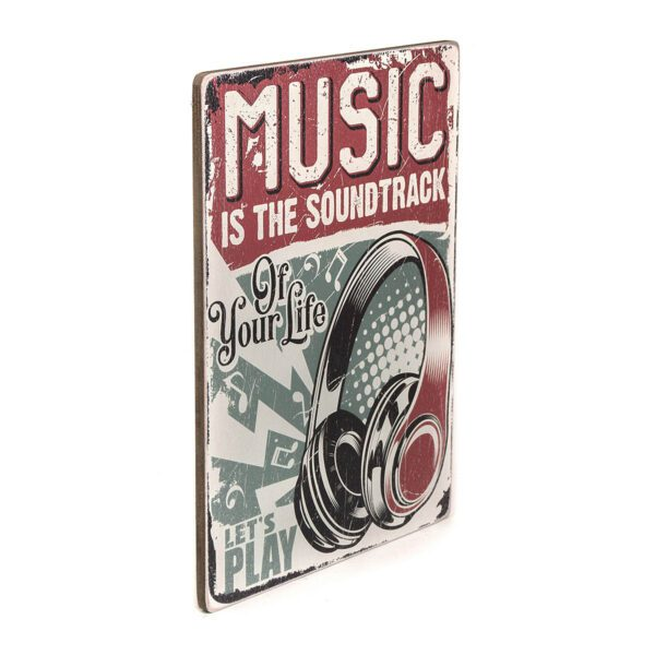 Постер Music is the soundtrack of your life. Let's play