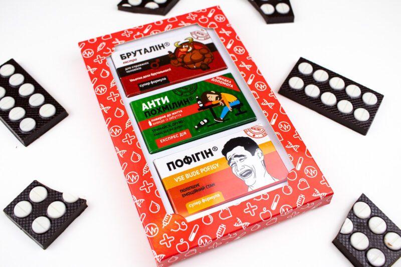 Шоколад подарочный Мужская аптечка