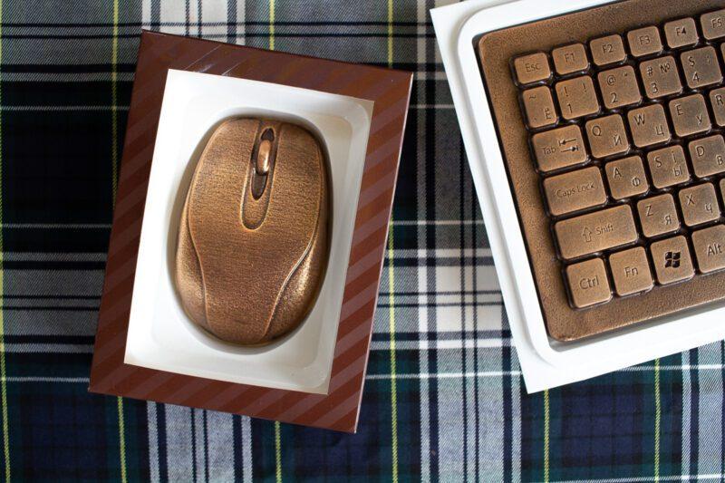 Шоколад подарочный Компьютерная мышка