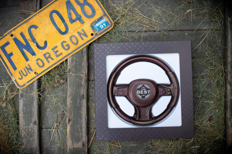 Шоколад подарочный фигурки Руль для водителя